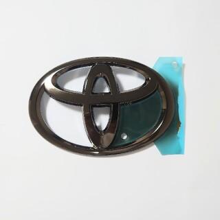 トヨタ - 純正 ランドクルーザープラド 150 漆黒 ブラックメッキ リアトヨタエンブレム