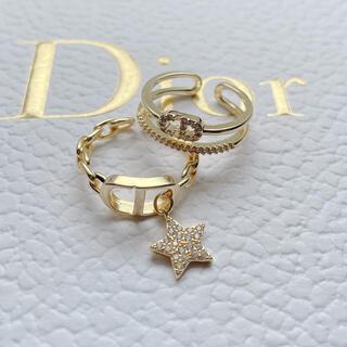 ディオール(Dior)のロゴリングセット♡限定5セット✨(リング(指輪))