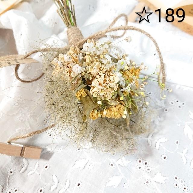 ドライフラワースワッグ☆189 ハンドメイドのフラワー/ガーデン(ドライフラワー)の商品写真
