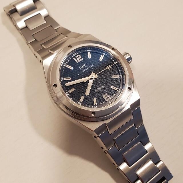 IWC(インターナショナルウォッチカンパニー)の※ぃぴ様 専用 IWC  インヂュニア  IW322701  黒文字盤 メンズの時計(腕時計(アナログ))の商品写真