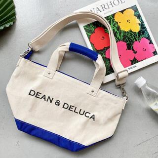ディーンアンドデルーカ(DEAN & DELUCA)のDEAN&DELUCA ディーンアンドデルーカ 今期 2wayショルダー ブルー(ショルダーバッグ)