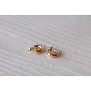 プラージュ(Plage)の𓃊mini hoop pierce𓃊 gold⦅silver925⦆(ピアス)