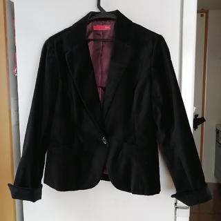 イマージュ(IMAGE)の黒ジャケット(テーラードジャケット)