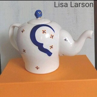 リサラーソン(Lisa Larson)のリサラーソン 平和のためのポット 箱つき 瀬戸焼(食器)