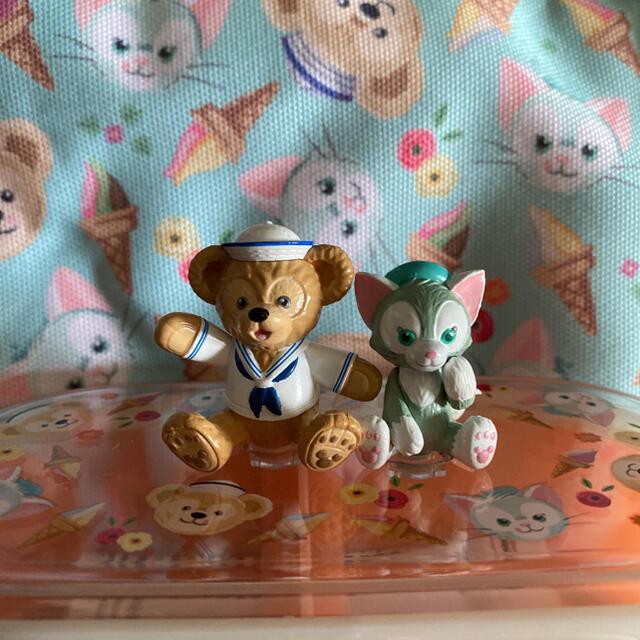 ダッフィー(ダッフィー)の香港ディズニー ダッフィー お弁当箱+ランチケース エンタメ/ホビーのおもちゃ/ぬいぐるみ(キャラクターグッズ)の商品写真