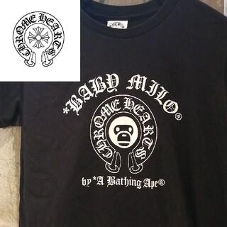 クロムハーツ(Chrome Hearts)の【エイプ初期コラボ】クロムハーツロゴT FENDI ZARA  エミリオプッチ(Tシャツ(半袖/袖なし))