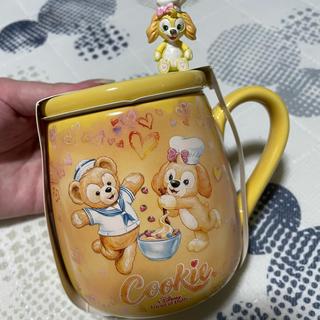 Disney - クッキーアン スプーン マグカップ 香港ディズニー ダッフィー&フレンズ