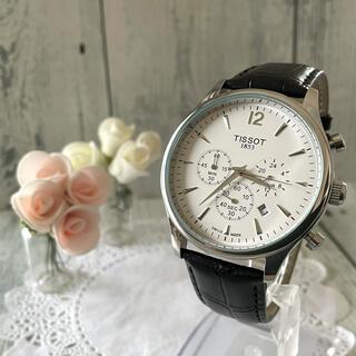ティソ(TISSOT)の【動作OK】TISSOT ティソ 腕時計 Tレディドレスポート クロノグラフ(腕時計(アナログ))