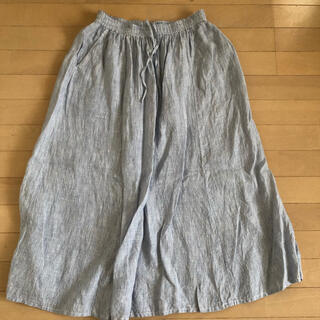 ムジルシリョウヒン(MUJI (無印良品))のスカート(ロングスカート)