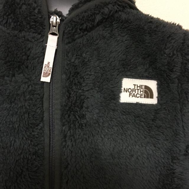 THE NORTH FACE(ザノースフェイス)のノースフェイス キャンプシェラ キッズ フリース パーカー S 130サイズ キッズ/ベビー/マタニティのキッズ服男の子用(90cm~)(ジャケット/上着)の商品写真