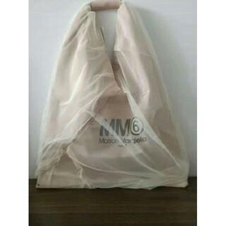 MM6 - 新品MM6 マルジェラ トライアングル チュール バッグ トートバッグ メゾン