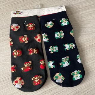 ユニバーサルスタジオジャパン(USJ)のユニバ USJ 任天堂  スーパーマリオ ソックス 靴下  (キャラクターグッズ)