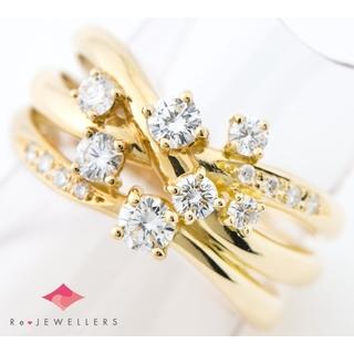 タサキ(TASAKI)の田崎真珠   ダイヤモンド 計0.68 リング・指輪(リング(指輪))