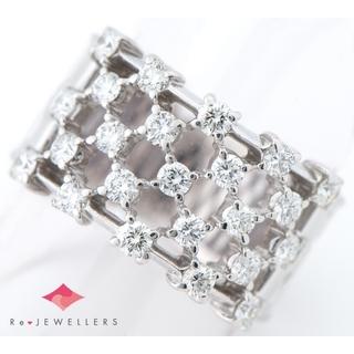 タサキ(TASAKI)の田崎真珠   ダイヤモンド 計0.95 リング・指輪(リング(指輪))