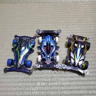 タミヤミニ四駆3台セット(プラモデル)