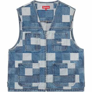 Supreme - 【Lサイズ】Patched Denim Vest
