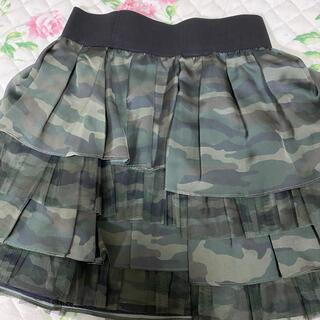 ジェーンマープル(JaneMarple)のジェーンマープル 迷彩柄スカート(ひざ丈スカート)