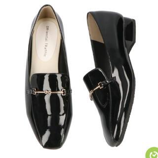 オリエンタルトラフィック(ORiental TRaffic)のスクエアトゥレインローファー(レインブーツ/長靴)