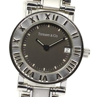 ティファニー(Tiffany & Co.)のティファニー アトラス デイト  クォーツ レディース 【中古】(腕時計)