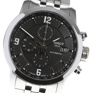 ティソ(TISSOT)のティソ  クロノグラフ T055427A 自動巻き メンズ 【中古】(腕時計(アナログ))