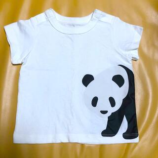 ムジルシリョウヒン(MUJI (無印良品))の無印 パンダ Tシャツ 70(Tシャツ)