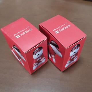 フクオカソフトバンクホークス(福岡ソフトバンクホークス)の勝利のお父さんストラップ SoftBank(2セット)(ノベルティグッズ)