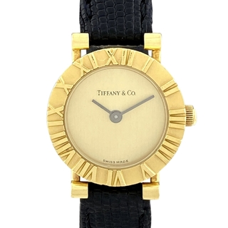 ティファニー(Tiffany & Co.)のティファニー アトラス D286753 クォーツ レディース 【中古】(腕時計)