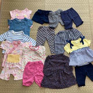 ユニクロ(UNIQLO)の子供服 まとめ売り 80 女の子(その他)