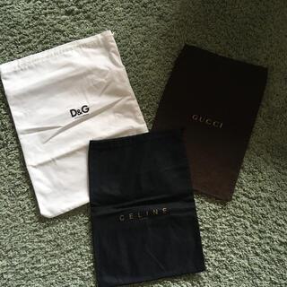 グッチ(Gucci)のGUCCI CELINE D&G 付属の袋(その他)