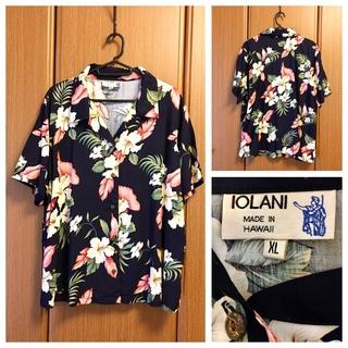 ロンハーマン(Ron Herman)の希少 IOLANI USA Vintage Aloha Shirt アロハシャツ(シャツ/ブラウス(半袖/袖なし))