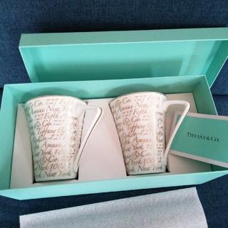 Tiffany & Co. - ティファニー ノーツ ペアマグカップ