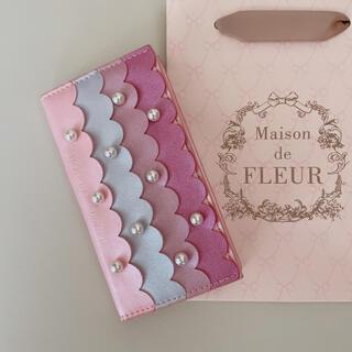メゾンドフルール(Maison de FLEUR)の♡メゾンドフルール♡ラメスカラップアイフォンケース♡(iPhoneケース)