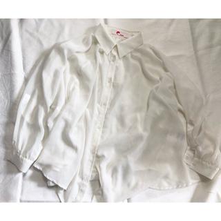 イーハイフンワールドギャラリー(E hyphen world gallery)のシアーシャツ(シャツ/ブラウス(長袖/七分))