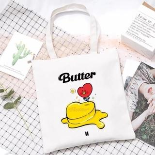 ボウダンショウネンダン(防弾少年団(BTS))のBT21 Butter 【TATA】トートバッグ(トートバッグ)