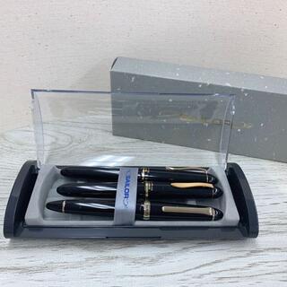 セーラー(Sailor)の値下げ②セーラー 万年筆 21K ボールペン 3本セット 箱付き(ペン/マーカー)
