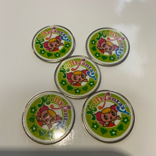 イオン(AEON)のモーリーコイン モーリーファンタジー 5枚(遊園地/テーマパーク)