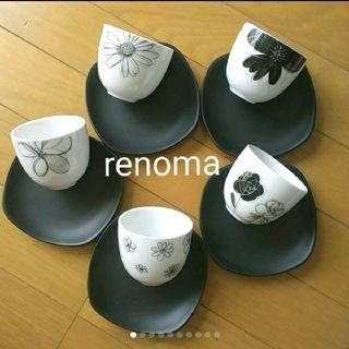 RENOMA - renoma レノマ湯飲みセット レノマ食器 5客セット