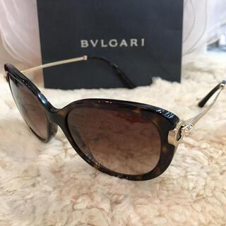 ブルガリ(BVLGARI)の☆美品☆ブルガリ サングラス べっこう風フレーム ブラウン(サングラス/メガネ)