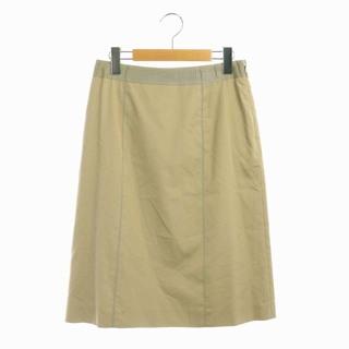 ハロッズ(Harrods)のハロッズ スカート 台形 膝丈 3 ベージュ /AA ■EC(ひざ丈スカート)