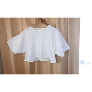 エヴリス(EVRIS)のEVIRS ボタンオープンTシャツ(シャツ/ブラウス(長袖/七分))