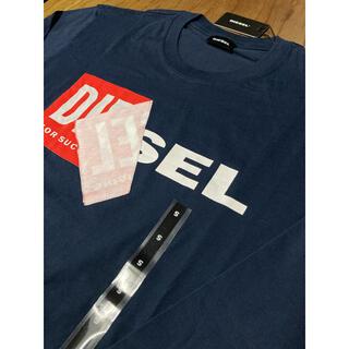 ディーゼル(DIESEL)のDIESEL  新品 Sサイズ  ロングTシャツ 薄手 ネイビー ディーゼル(Tシャツ/カットソー(七分/長袖))