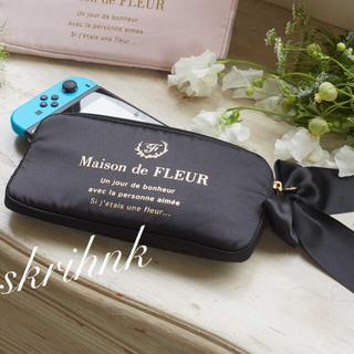 Maison de FLEUR - ♡メゾンドフルール♡スイッチ用ケース♡黒♡任天堂Switch用♡ジェラートピケ