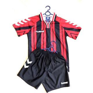 ヒュンメル(hummel)のヒュンメル hummel 半袖シャツ 審判服 サッカーユニフォーム 上下セット(ウェア)