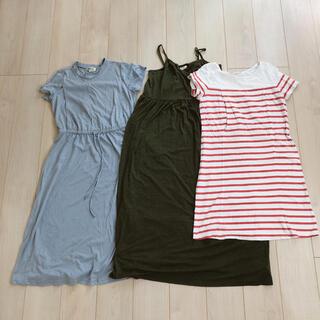 ベルメゾン - 授乳服 半袖 ワンピース まとめ売り Mサイズ Free size