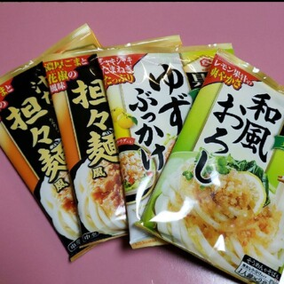 キッコーマン/具麺(3種類)4袋セット