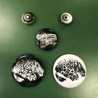 アンダーカバー(UNDERCOVER)のUNDERCOVER PinBack Button 5pieces SET(その他)