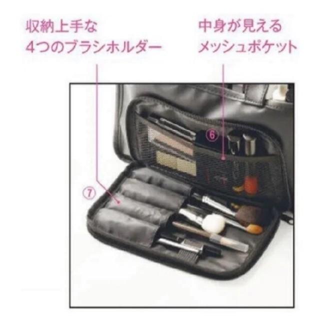 shu uemura(シュウウエムラ)のシュウ ウエムラ メイクアップアーティストバッグ 付録 コスメ/美容のメイク道具/ケアグッズ(メイクボックス)の商品写真