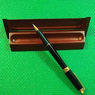京セラ - 京セラ  KYOCERA  セラミックボールペン   天然木製ケース付