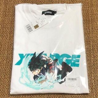 エクストララージ(XLARGE)のXLARGE ヒロアカ 20SS S/S TEE DEKU 白 Sサイズ(Tシャツ/カットソー(半袖/袖なし))