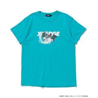 エクストララージ(XLARGE)のXLARGE ヒロアカ 20SS S/S TEE DEKU 緑 Sサイズ(Tシャツ/カットソー(半袖/袖なし))